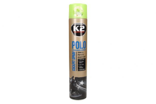 Foto 2 - K2 POLO COCKPIT 750 ml - ochrana vnitřních plastů GREEN APPLE