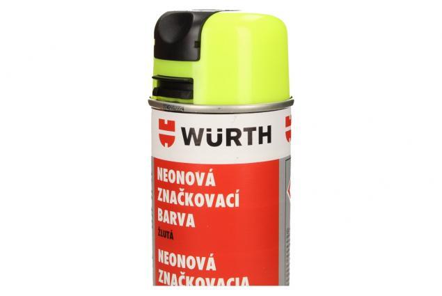 Foto 3 - Würth neonová značkovací barva žlutá 500ml