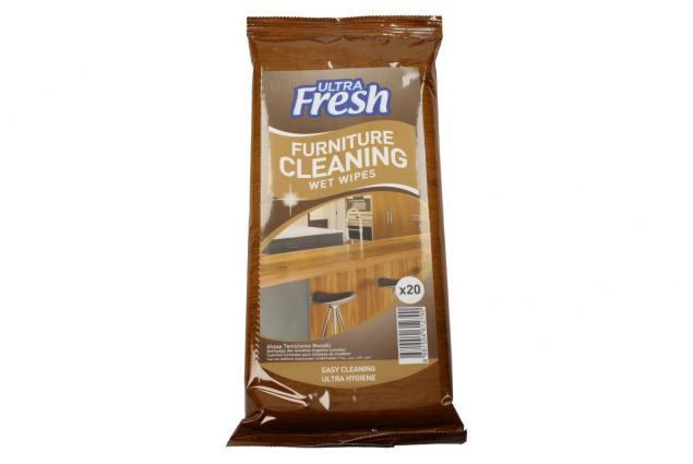 Foto 2 - Ultra Fresh vlhčené čistící ubrousky na nábytek