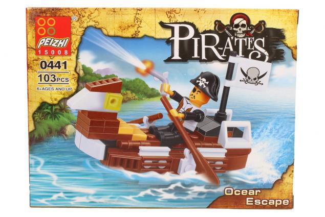 Foto 3 - Stavebnice Peizhi Pirates Ocear Escape 0441