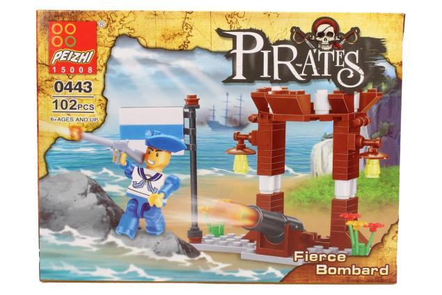 Foto 3 - Stavebnice Peizhi Pirates Fierce Bombard 0443