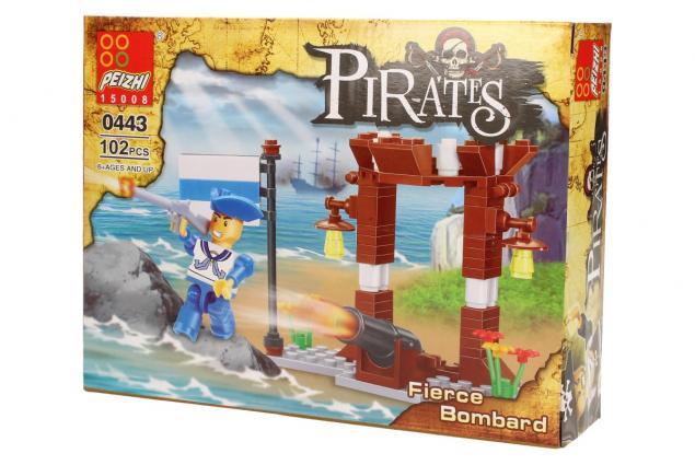 Foto 4 - Stavebnice Peizhi Pirates Fierce Bombard 0443