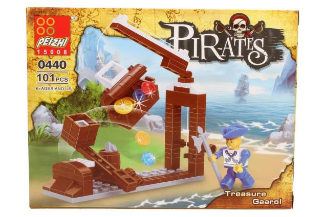 Foto 2 - Stavebnice Peizhi Pirates Treasure Gaarol 0440