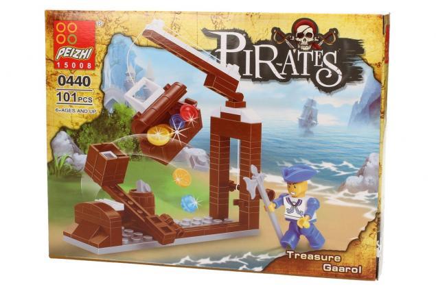 Foto 3 - Stavebnice Peizhi Pirates Treasure Gaarol 0440