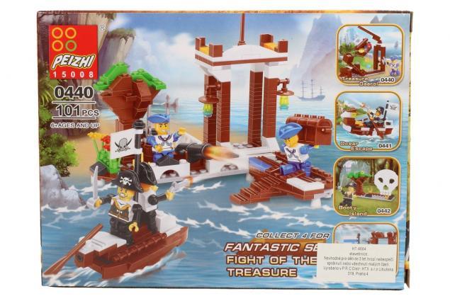 Foto 4 - Stavebnice Peizhi Pirates Treasure Gaarol 0440