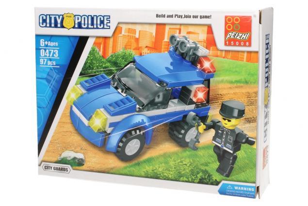 Foto 3 - Stavebnice Peizhi City Police 0473