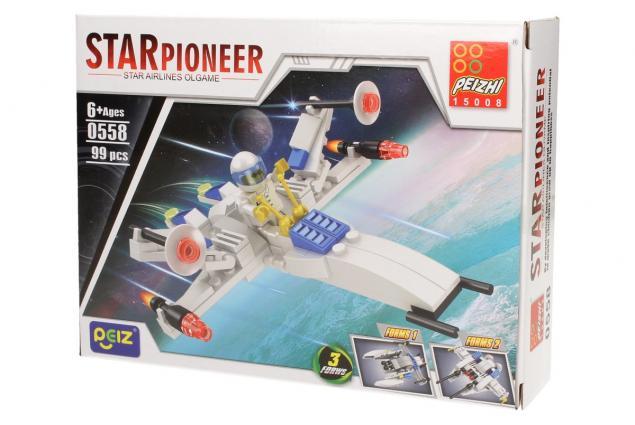 Foto 3 - Stavebnice Peizhi Star Pioneer 0558