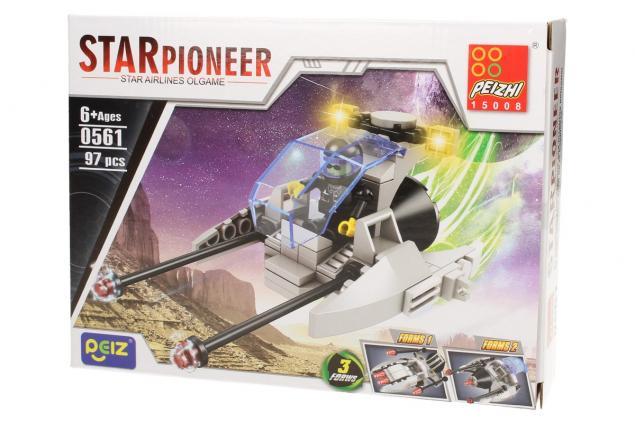 Foto 3 - Stavebnice Peizhi Star Pioneer 0561