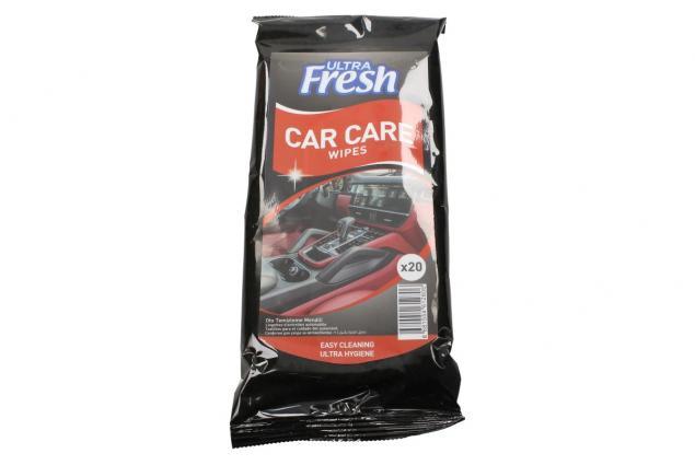 Foto 2 - Ultra Fresh vlhčené čistící ubrousky do auta