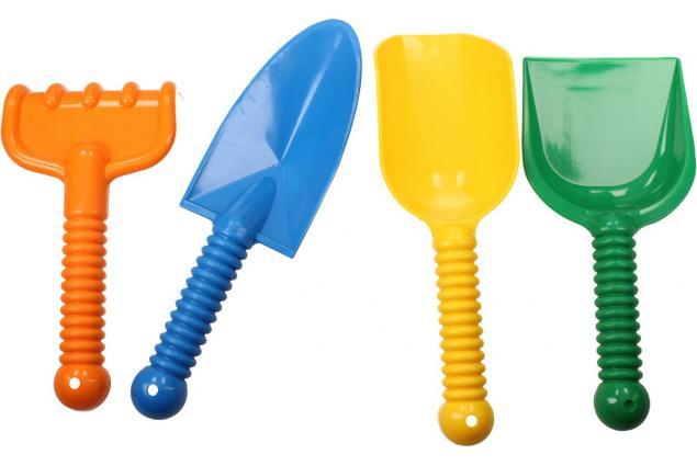 Foto 5 - Souprava hraček na písek 8 ks