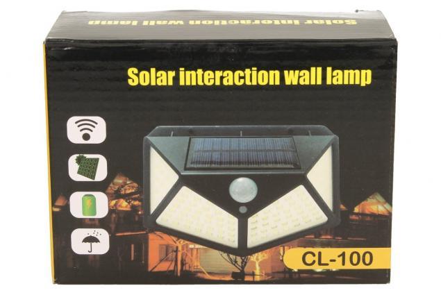 Foto 5 - LED solární světlo s pohybovým čidlem CL-162