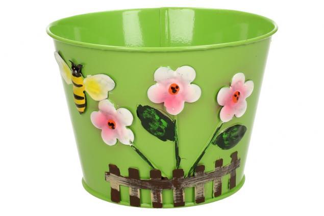 Foto 4 - Plechové květináče sada 6 ks malé