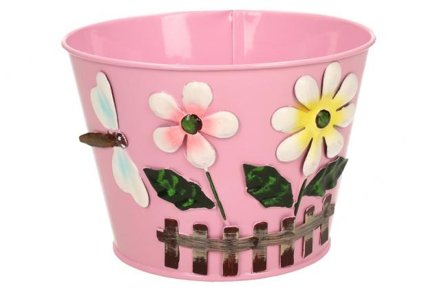 Foto 5 - Plechové květináče sada 6 ks malé