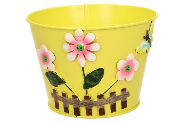 Foto 6 - Plechové květináče sada 6 ks malé