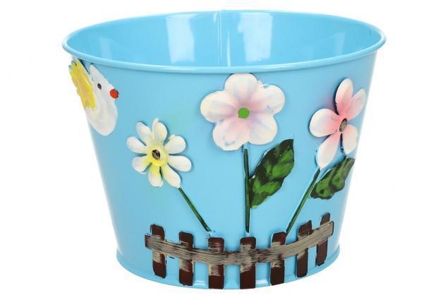 Foto 7 - Plechové květináče sada 6 ks malé