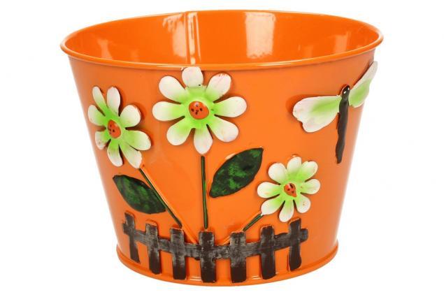 Foto 8 - Plechové květináče sada 6 ks malé