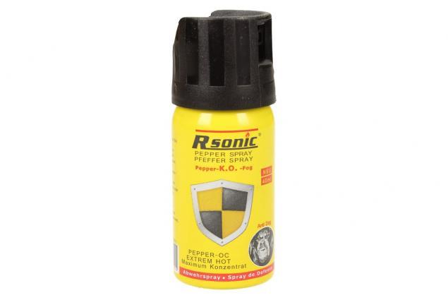 Foto 2 - Obranný pepřový sprej 40ml žlutý