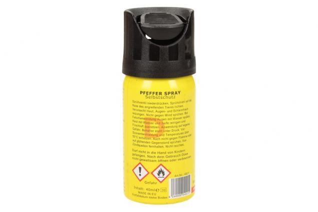 Foto 3 - Obranný pepřový sprej 40ml žlutý