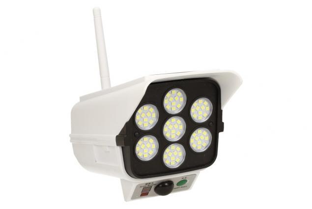 Foto 2 - Imitace bezpečnostní kamery CL-877B s LED solárním světlem