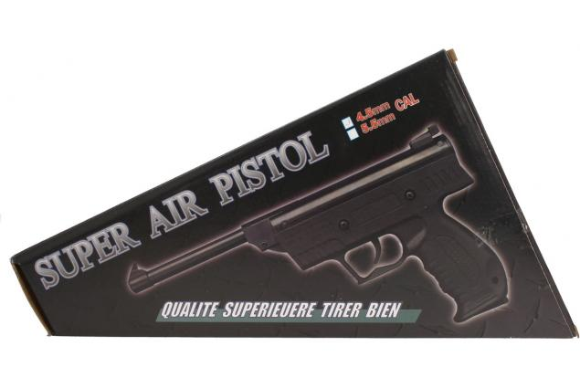 Foto 7 - Vzduchová pistole jednoruční černá (ráže 4,5mm)
