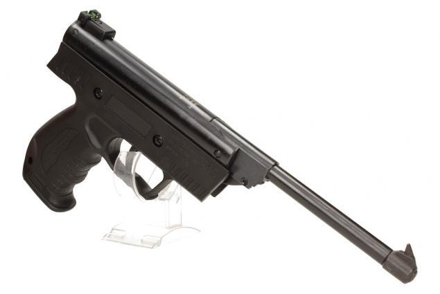 Foto 3 - Vzduchová pistole jednoruční černá (ráže 4,5mm)