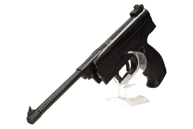 Foto 5 - Vzduchová pistole jednoruční černá (ráže 4,5mm)