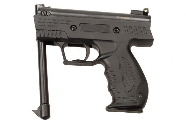 Foto 6 - Vzduchová pistole jednoruční černá (ráže 4,5mm)