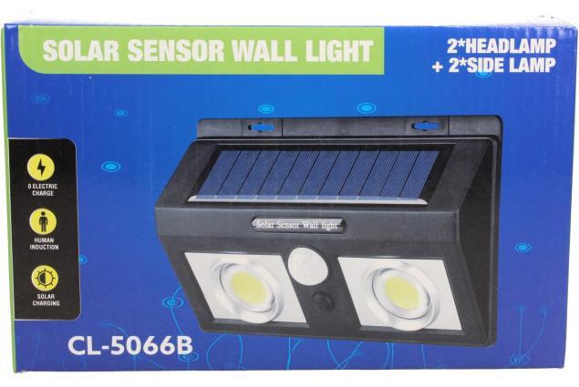 Foto 7 - LED solární světlo s pohybovým čidlem CL-5066A