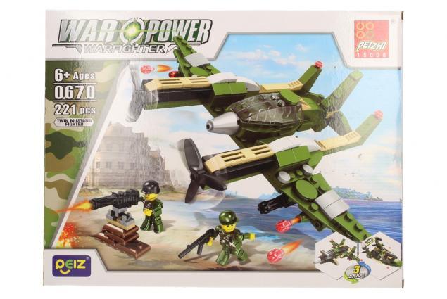 Foto 2 - Stavebnice Peizhi War Power 0670