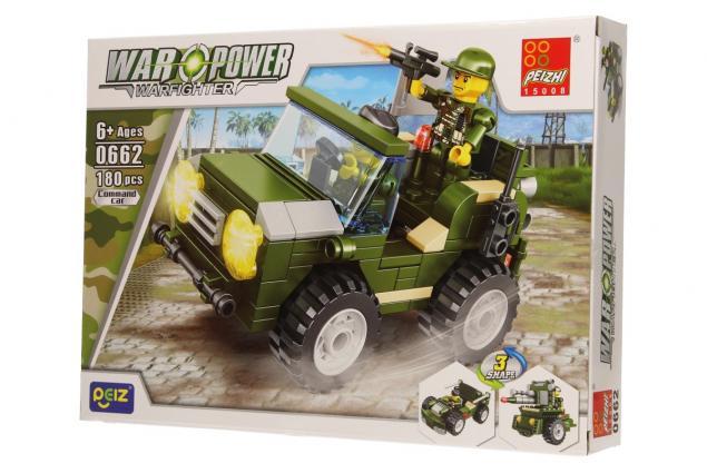 Foto 3 - Stavebnice Peizhi War Power 0662