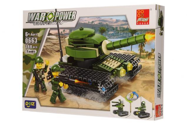 Foto 3 - Stavebnice Peizhi War Power 0663