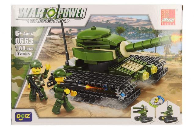 Foto 2 - Stavebnice Peizhi War Power 0663