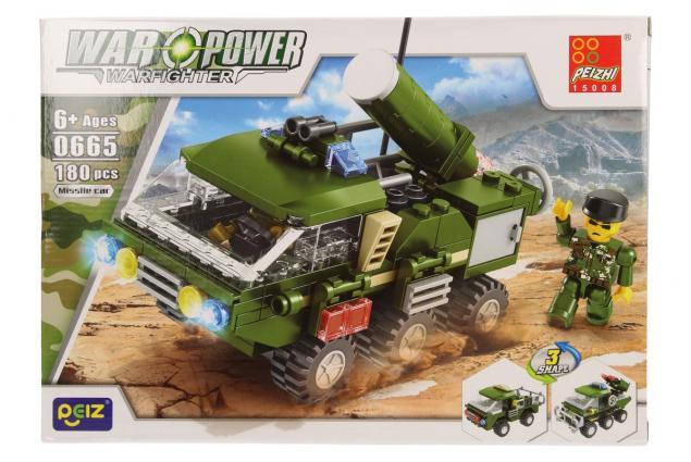 Foto 2 - Stavebnice Peizhi War Power 0665