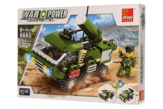 Foto 3 - Stavebnice Peizhi War Power 0665