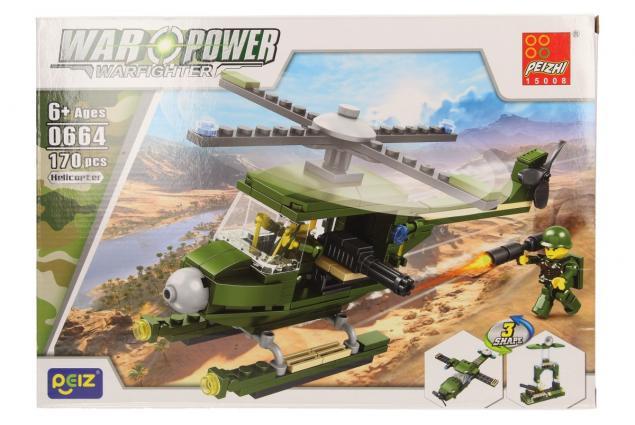 Foto 2 - Stavebnice Peizhi War Power 0664