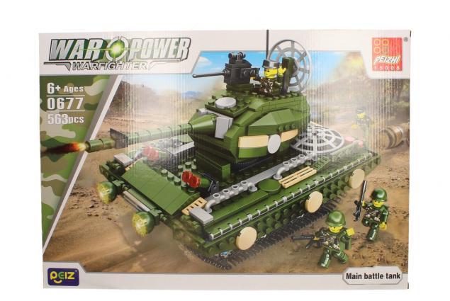 Foto 2 - Stavebnice Peizhi War Power 0677