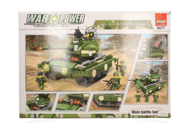 Foto 4 - Stavebnice Peizhi War Power 0677