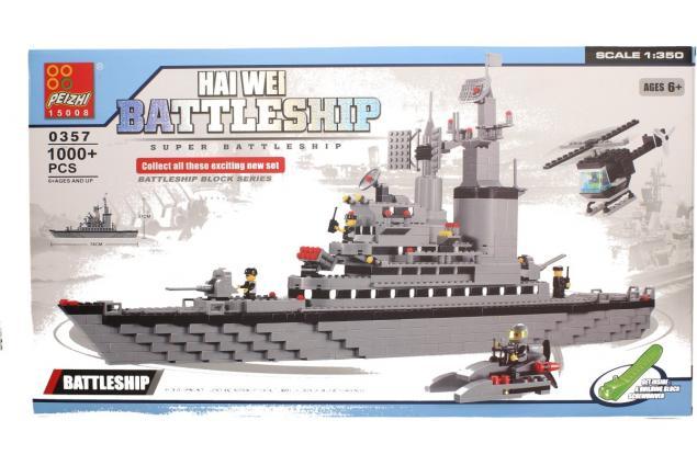 Foto 2 - Stavebnice Peizhi Battleship 0357