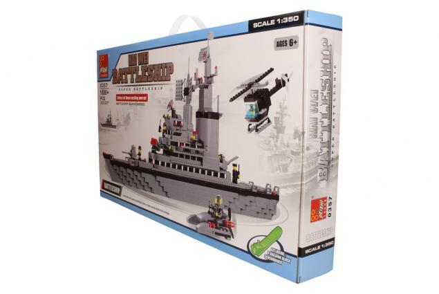 Foto 4 - Stavebnice Peizhi Battleship 0357