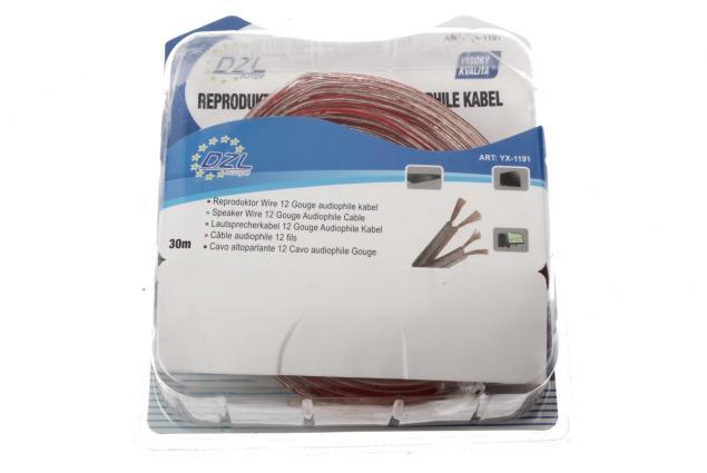 Foto 4 - Kabel na propojení reprosoustav YX-1191 30m
