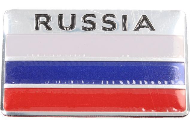 Foto 3 - Kovová samolepka RUSSIA 5cm x 8cm