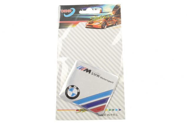 Foto 3 - Kovová samolepka BMW Motorsport 5,5 x 6 cm