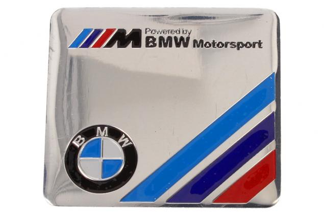 Foto 2 - Kovová samolepka BMW Motorsport 5,5 x 6 cm