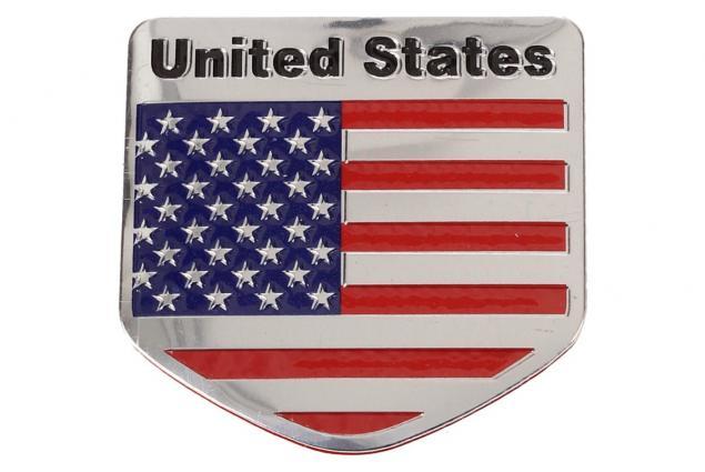 Foto 2 - Kovová samolepka United States 5 x 5 cm