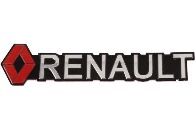Foto 2 - Kovová samolepka RENAULT 13 x 2,5 cm