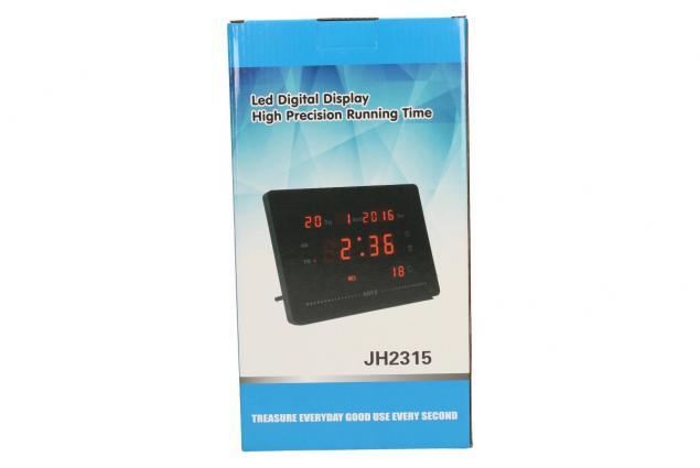 Foto 6 - Digitální hodiny a teploměr JH2316