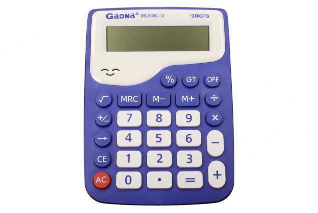 Foto 3 - Digitální kalkulačka DS-835C-12 velká