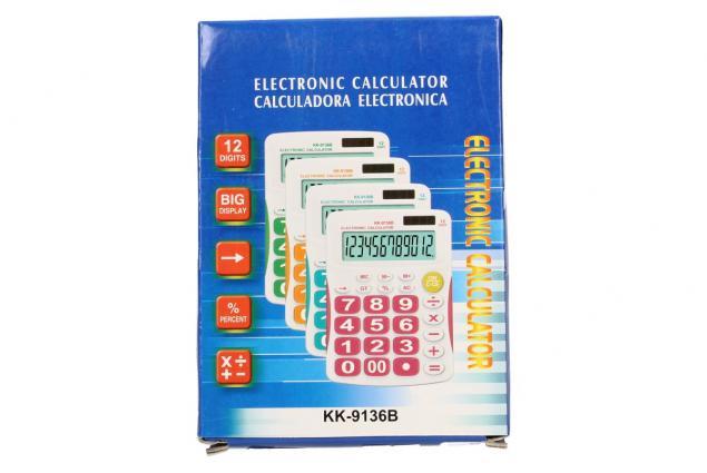 Foto 4 - Digitální kalkulačka KK-9136B velká