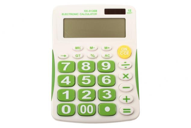 Foto 3 - Digitální kalkulačka KK-9136B velká