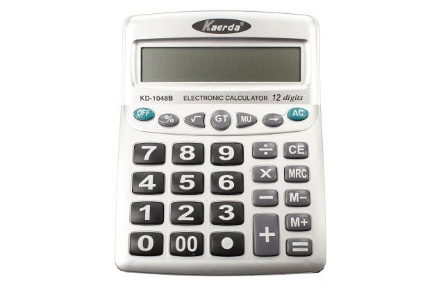 Foto 2 - Digitální kalkulačka KD-1048B velká